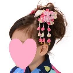 (加藤)KATO 480-6013 髪飾り 梅に蝶 ピンク