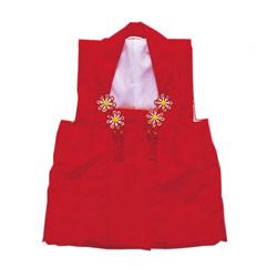 (加藤)KATO 429-0110 女児被布コート アセテート 赤 各サイズ
