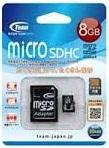 (チームジャパン) TEAMジャパン マイクロSDHCカード Class4