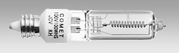 (コメット) COMET ハロゲンランプ 100V 100W