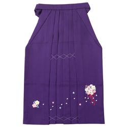 (加藤)KATO 470-7013 女児袴 紫 前後刺繍花束 各サイズ 中国製 SO
