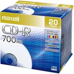 (日立マクセル) maxell CDR700S.PNW.20S データ用CD-R 20枚