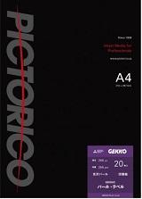 (ピクトリコ) PICTORICO GKN-A4/20 A4サイズ GEKKOパール・ラベル 光沢パール