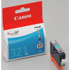 (キヤノン) Canon  BCI-321C シアン インクカートリッジ