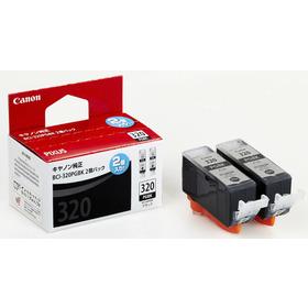 (キヤノン) Canon  BCI-320PGBK2P ブラック インクカートリッジ