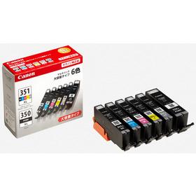 (キヤノン) Canon BCI-351XL+350XL/6MP 6色マルチパック(351XLBK/C/M/Y/350XLPGBK)