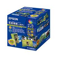 (エプソン) EPSON K89ROLPS2  写真用紙(光沢) ロールタイプ L判 89mm×10m