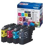 (ブラザー) brother  LC11-4PK 4色パツク インクカートリッジ