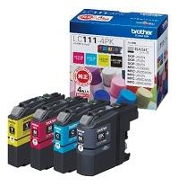 (ブラザー) brother  LC111-4PK 4色パツク インクカートリッジ