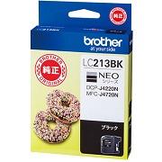 (ブラザー) brother  LC213BK ブラック インクカートリッジ