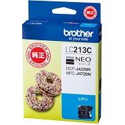 (ブラザー) brother  LC213C シアン インクカートリッジ