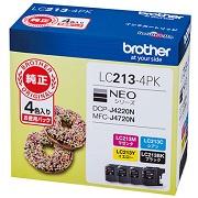 (ブラザー) brother  LC213-4PK 4色パツク インクカートリッジ