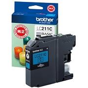 (ブラザー) brother  LC211C シアン インクカートリッジ