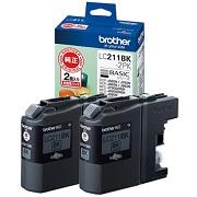 (ブラザー) brother  LC211BK-2PK ブラック インクカートリッジ