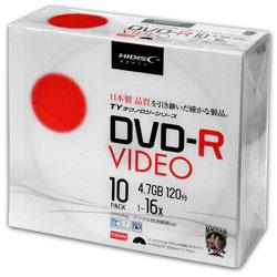 (ハイディスク) HIDISC TYDR12JCP10SC 録画用DVD-R 10枚