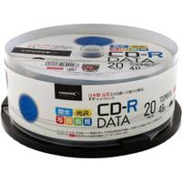SALE!!(ハイディスク)HIDISC TYCR80YPW20SP データ用CD-R 20枚