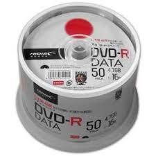 SALE!!(ハイディスク) HIDISC TYDR47JNP50SPMG データ用DVD-R 50枚
