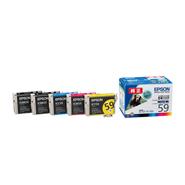 (エプソン) EPSON IC59 ビジネスプリンター用インクカートリツジ 各色