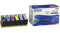 (エプソン) EPSON KUI-6CL-M 6色マルチパック(BK/C/M/Y/LC/LM) BKのみ増量 インクカートリツジ