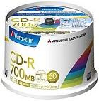 (三菱化学メディア) バーベイタム SR80FP50V2 データ用CD-R 50枚