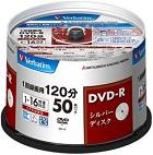 (三菱化学メディア) バーベイタム VHR12JP50VS1 録画用DVDーR 50枚