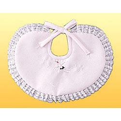 (加藤)KATO 519-0033  ベビー洋フード型 よだれかけ単品 ピンク