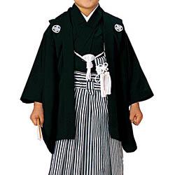 (加藤)KATO 522-5607  男児紋付 黒  サイズ各種