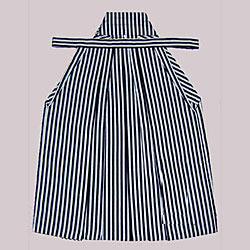 (加藤)KATO   ジュニア男袴単品 白黒縞  各種サイズ