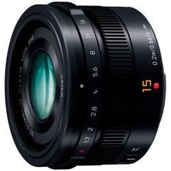 (パナソニック) Panasonic LEICA DG SUMMILUX 15mm/F1.7 ASPH. [H-X015] ブラック