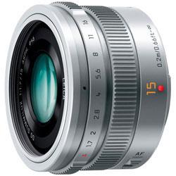 (パナソニック) Panasonic LEICA DG SUMMILUX 15mm/F1.7 ASPH. [H-X015] シルバー