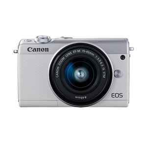 (キヤノン) Canon EOS M100 EF-M15-45 IS STM レンズキット ホワイト