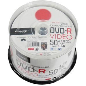SALE!!(ハイディスク)HIDISC TYDR12JCP50SP 録画用DVD-R 50枚