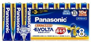 (パナソニック) Panasonic LR6EJ/8SW エボルタ