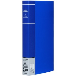 (フエル)NAKABAYASHI フォトグラフィリア L判 3段 240枚 ブルー PHL-1024-B