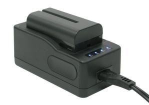 サンテック(suntech) LI-ION電池550・急速充電器セット