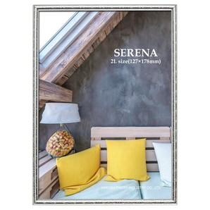 (ハクバ) HAKUBA メタルフォトフレーム SERENA(セレーナ)02 2Lサイズ 1面 シルバー