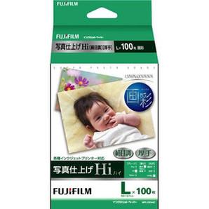 (フジフイルム) FUJIFILM  WPL100HIC  写真仕上げHi 絹目/L判 100枚