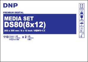 (ディー・エヌ・ピー)DNP メディアセットDM81280 (6切・6切Wサイズ110×2)
