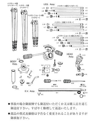 (ハスキー)HUSKY H−14 頭部ドラム