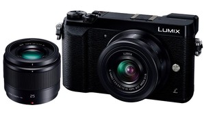 (パナソニック)  Panasonic  パナソニック LUMIX DMC-GX7 MK2K-K ダブルレンズキット ブラック