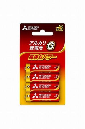 (ミツビシ)ミツビシ LR6GD/4BP アルカリG タン3