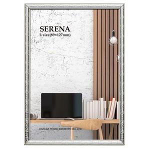 ((ハクバ) HAKUBA メタルフォトフレーム SERENA(セレーナ)02 Lサイズ 1面 シルバー