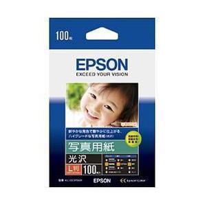 (エプソン) EPSON KL100PSKR  写真用紙(光沢) L判 100枚