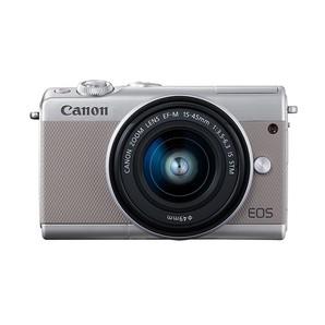(キヤノン) Canon EOS M100 EF-M15-45 IS STM レンズキット グレー