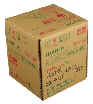 (フジフイルム) FUJIFILM  プロレーザーペーパー(ラスター) CLPPLA2 L QL 21.6X80M