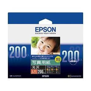 (エプソン) EPSON KL200PSKR  写真用紙(光沢) L判 200枚