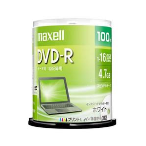 (日立マクセル) maxell DR47PWE.100SP データ用DVD-R 100枚