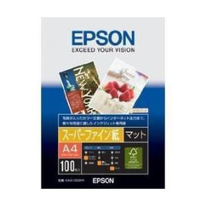 (エプソン) EPSON KA4100SFR  スーパーファイン紙 A4 100枚