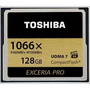 (東芝)TOSHIBA CFカード EXCERIA PRO CF-AXシリーズ