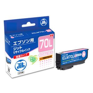 (ジット) JIT JIT-E70LML ライトマゼンタ インクカートリッジ